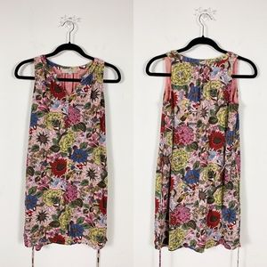 LOFT Petites - Mini Floral Print Dress Size XSP